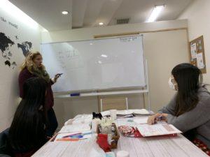 スペイン語クラス実施中!
