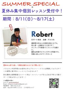 ✨夏休み集中個別レッスン受付中!✨