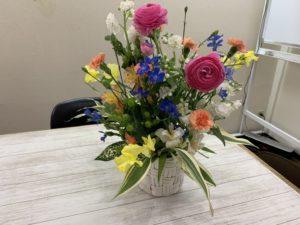 新しいお花が届きました♪