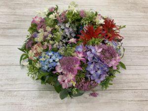 紫陽花のお花が届きました♪