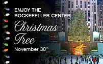 The tree has come to New York!