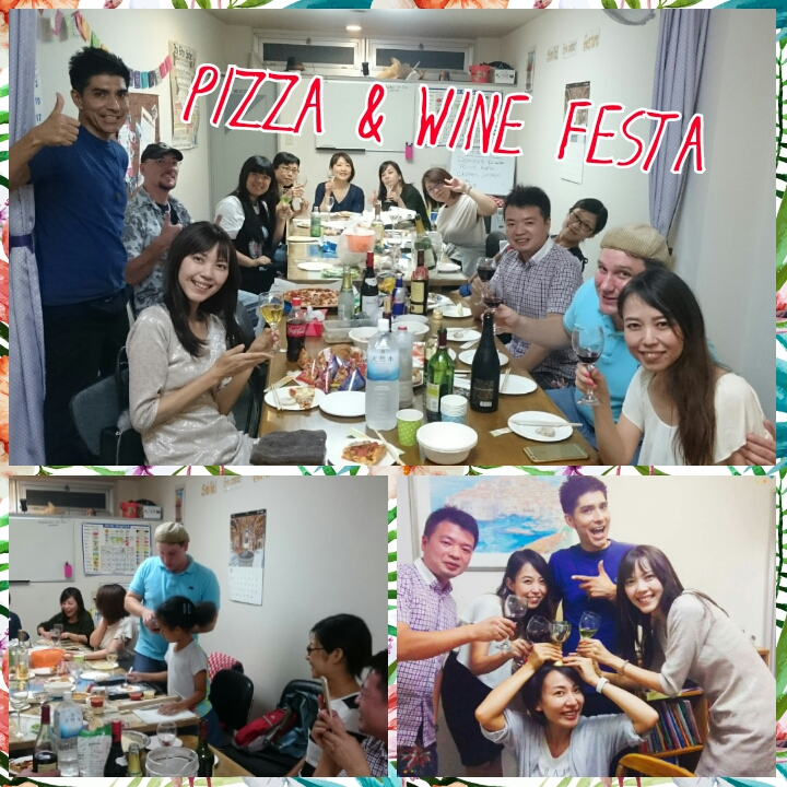 Pizza & Wine Festa in Par Avion!!