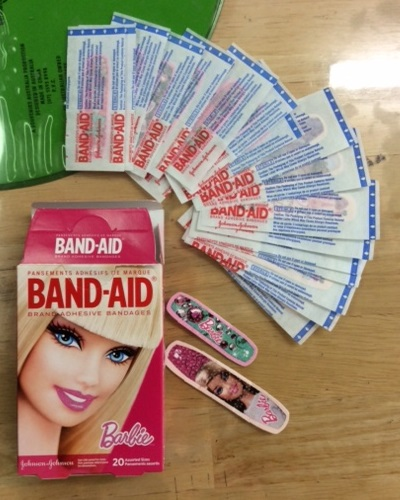 Barbie BAND-AID from Hawaii