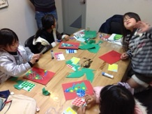 Christmas Craft in Kids class